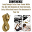 3-Pack-10Ft-Braided-Micro-USB-Phone-Charger-Charging-Cable-Data-Cord-For-Samsung miniature 7