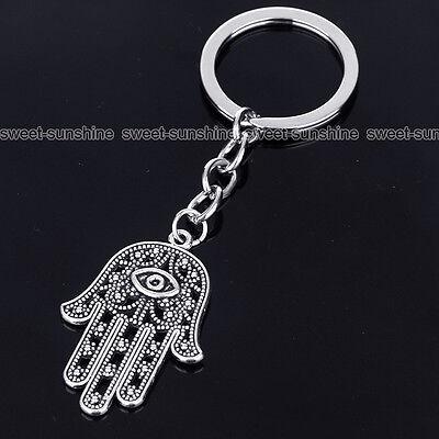 Family Gifts Silver Broken Heart Pendant Friendship Keyrings Keychain Key Chain