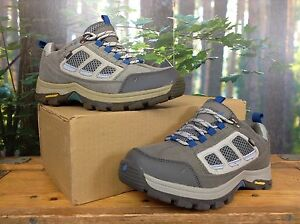 PETER-STORM-LADIES-UK-4-EU-37-GREY-BLUE-CAMBORNE-LOW-WALKING-SHOES-RRP-70