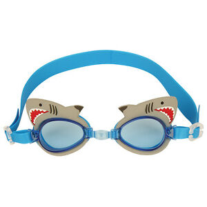 5310bc19b9e Stephen Joseph Shark Swim Goggles for Kids - Boys Swimming Goggles ...