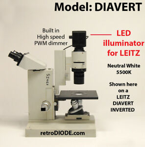 LED-retrofit-for-Older-LEITZ-microscopes-DIAVERT