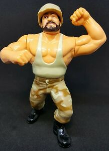 WWF WWE Wrestling Hasbro Series 10 The Bushwackers Butch Luke Figure