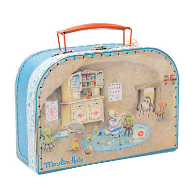 Moulin Roty 632402 Valigetta Dottore Bambino Valise Docteur Doctor's Medical Bag