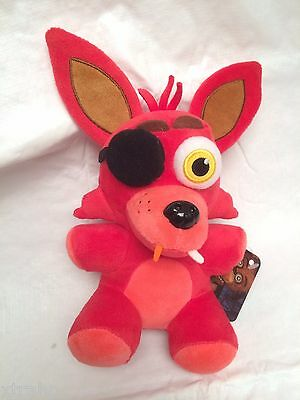 """New Authentic Five Nights At Freddy's FOXY 8"""" Plush FNAF USA Seller"""