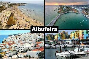 ALBUFEIRA-Portugal-Sovenir-Fridge-Magnet