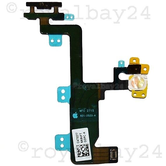 Original IPHONE 6 from an Switch LED Cable Button on/off Power Cable Flex Micro