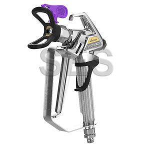 wagner vector pro airless spray gun fine finish with 310 spray tip ebay. Black Bedroom Furniture Sets. Home Design Ideas