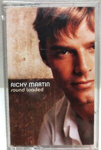 Ricky-Martin-Sound-Loaded-Cassette-Tape-CT-61394