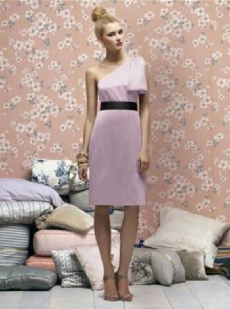Lela Rose Bridesmaid Dress LR 170....Suede Rose ...Size 8...NWT