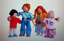 PLAN TOYS 4-pcs MODERN Family for Doll Houses