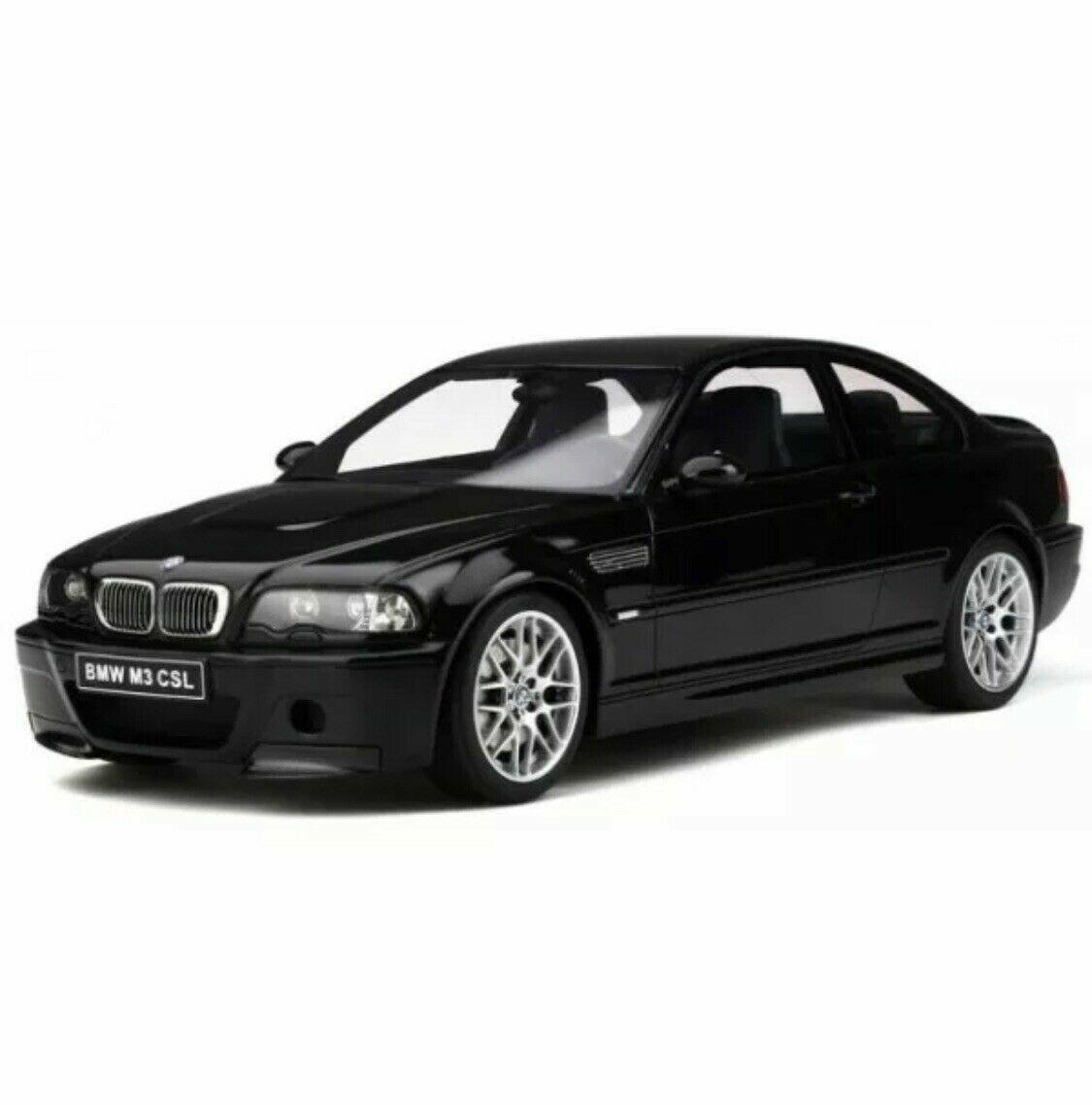 Otto Mobile BMW M3 E46 CSL noir brillant 1 12 le 999 pcs  Grande voiture NOUVEAU   très joli