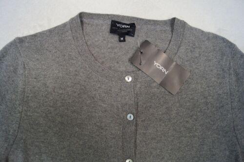 L YORN Strickjacke // Cardigan Gr XL 100/%Kaschmir  4 Farben  NEU S M