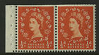 Great Britain 1955-57 Scott # 317d Mint Never Hinged Booklet Pane