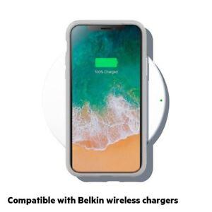 Belkin sheerforce Elite Drop schützende resistente transparente Schutzhülle für iPhone x