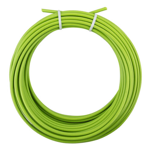 BICYCLE BIKE LINED BRAKE CABLE HOUSING 50 FOOT ROLL LIME GREEN NEW