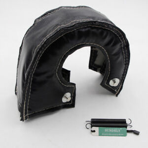 New-Sealed-T3-T25-T28-GT25-GT35-Turbo-Turbocharger-Heat-Shield-Blanket-Black