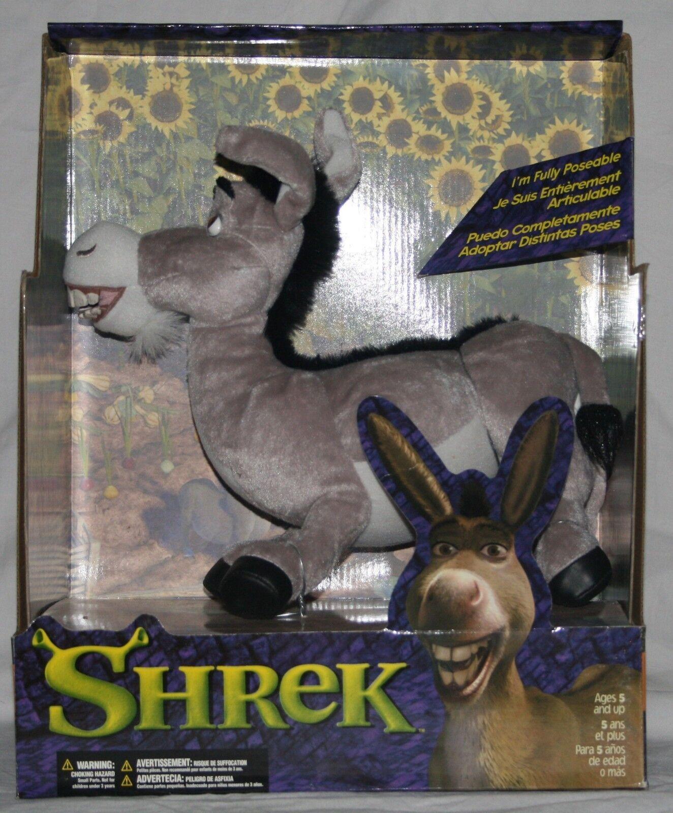 Shrek Donkey poseable plush doll