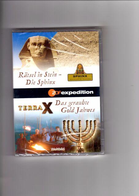 Terra X - Rätsel in Stein - Die Sphinx / Das geraubte Gold Jahwes / DVD