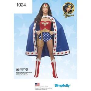 Simplicity-Pattern-1024-Wonder-Woman-DC-Comics-Cosplay-Costume-H5-6-14