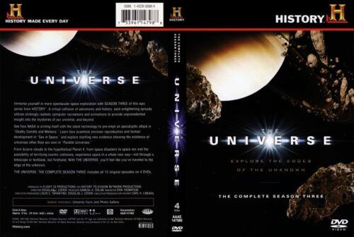 1 of 1 - The Universe : Season 3 (DVD, 2011, 4-Disc Set) Region 4