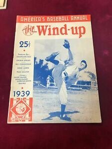 1939 Baseball Annual The Wind-Up Lefty Gomez Cover New York Yankees #1 (PL1)