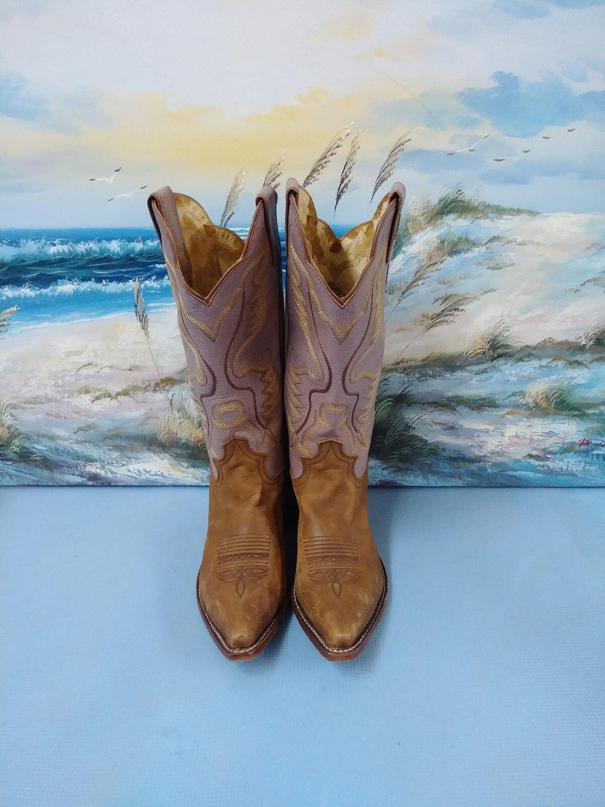 Justin cuero botas de vaquero para mujer Talla Talla Talla 7.5 C 5efb04