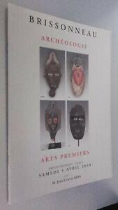 Catálogo De Venta Demuestra Brissonneau Arqueología Sábado 5 Abril 2008 Be