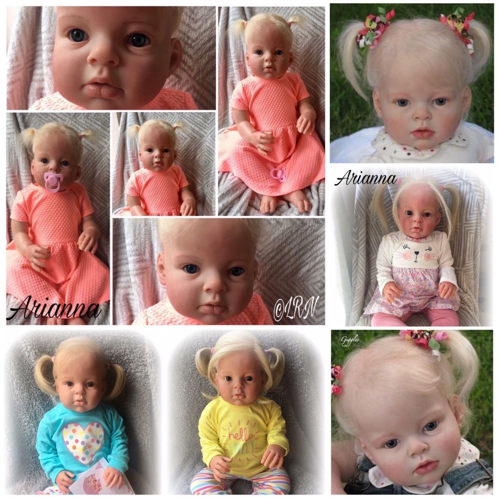Custom made reborn doll DA ARIANNA Bambino Kit. 8-10 settimane