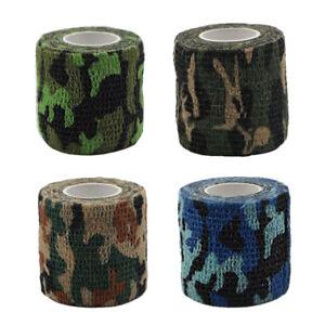Pet-Horse-Dog-Cat-Vet-Wound-Elastic-Self-adhesive-Camouflage-Bandage-Wrap-Tape
