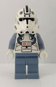 authentic LEGO minifigure star wars clone pilot sw0118 7259 6205 sand blue