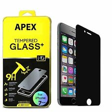 "Privacy Anti-Spy REAL Tempered Glass Screen Protector for 5.5"" iPhone 7 Plu"