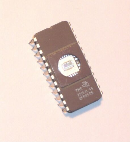 EPROM 2716 2516 EEPROM EPROM Gold Texas Instruments TMS2516JL-45