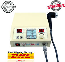 Portable Ultrasound Therapy Machine For Pain Relief 1mhz Chiropractic Pulse Unit