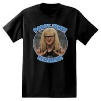 Snl Wayne's World Dana Carvey As Garth Party Time Excellent Shirt Black M
