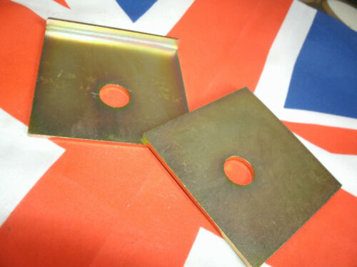 Rover P6 V8 lower engine mount location plates set of 1