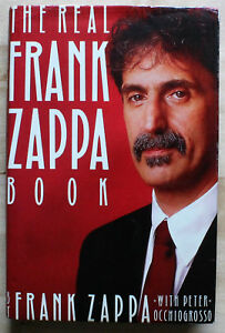 Frank-Zappa-034-The-Real-Frank-Zappa-Book-034-Hand-signed-by-Frank-Very-Rare