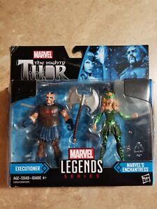 Marvel Legends Series Marvel's Enchantress /& Executioner 2-Pack New in Box