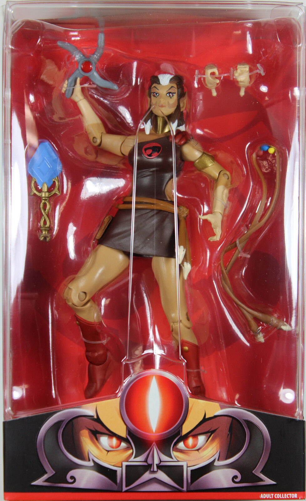 THUNDERCATS  PUMYRA ACTION FIGURE  Matty Club Third Earth Exclusive  MATTEL