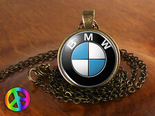 BMW Car Cars Silver Men Mens Womens Necklace Pendant Jewelry Gift Gifts