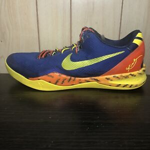 Nike Kobe 8 Barcelona Tiger Size 10.5
