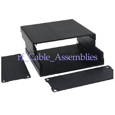 New Aluminum Box Enclosure Case Project electronic DIY black 100*97*40MM(L*W*H)