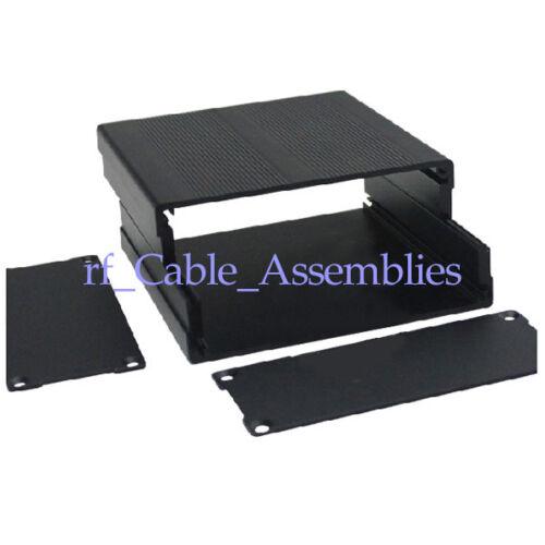 L*W*H New Aluminum Box Enclosure Case Project electronic DIY black 100*97*40MM