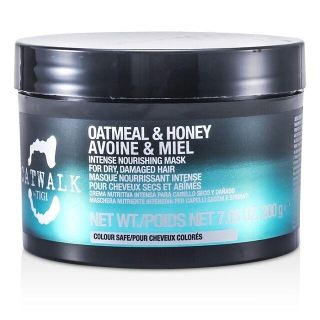 NEW Tigi Catwalk Oatmeal & Honey Intense Nourishing Mask (For Dry, Damaged 200g