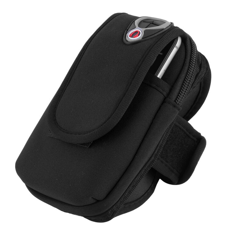 Waterproof Sport Arm Band Band Band Holder Pouch Case Earphone Hole For 5.5 Cellphone GP 1c7706