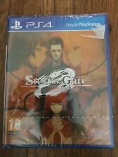 STEINS GATE 0 Zero PlayStation 4 PS4 PAL UK Brand New & Sealed