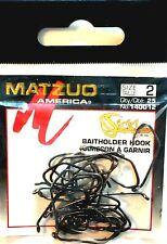 Matzuo American Treble Sickle Hook Size 3//0 Qty 25 Ref 340012-3//0