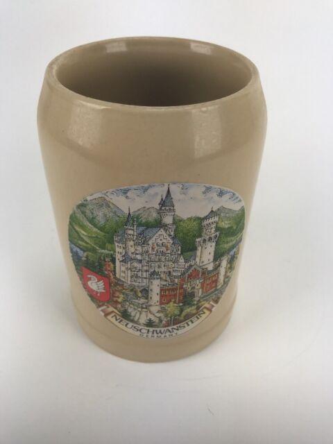 Beer Mug Stein Bavaria Germany SCHLOB NEUSCHWANSTEIN CASTLE (weinberg)