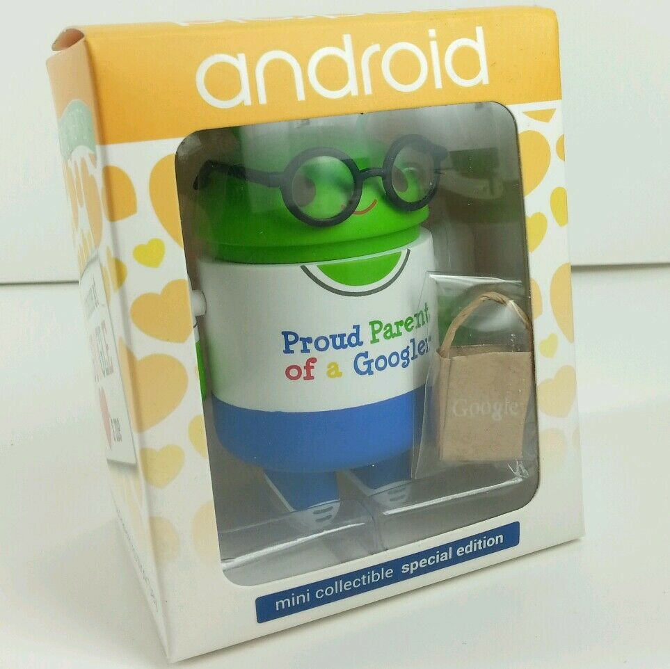 New Google Android prendre vos parents to Work Day Mini Collectible Shopping Sac