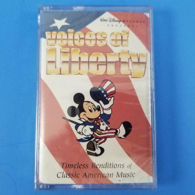 Walt Disney World The Voices of Liberty Cassette Tape Patriotic Songs a  Cappella