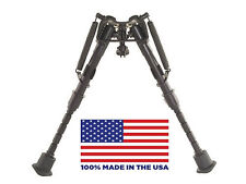 "HBRM Harris Bipod - Extends from 6"" to 9"" - Notched legs - 100% made in the USA"